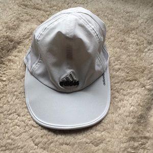 adidas Accessories - Adidas White Run Cap